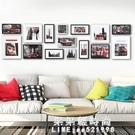 少女心房間布置網紅客廳背景照片牆裝飾相框掛牆組合 創意免打孔 果果輕時尚NMS