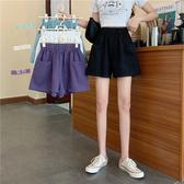 運動短褲 夏季2020新款韓版可外穿寬鬆休閒闊腿短褲百搭高腰運動熱褲女學生 新品
