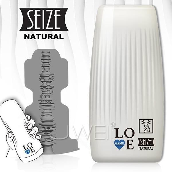 傳說情趣~LOVE GAME Seize 複雜構造緊握飛機杯-NATURAL