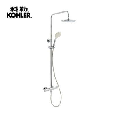【麗室衛浴】美國第一品牌 KOHLER VITEO 二路 定溫淋浴花灑組 (鉻) K-76623T-9-CP