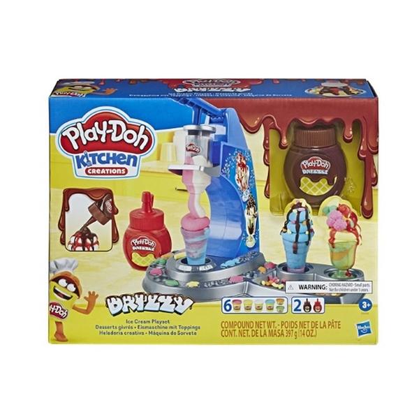 【Play-Doh 培樂多】HE6688 廚房系列 -雙醬冰淇淋