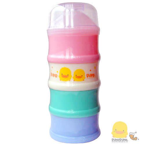 【奇買親子購物網】黃色小鴨彩色四層奶粉盒