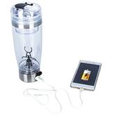 當當衣閣-usb充電款蛋白粉電動搖搖杯咖啡杯水杯自動攪拌杯奶昔杯健身600ml