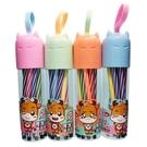 12色可水洗水彩筆 初晨JD-051 筆型(罐裝)/一件144個入(促39) 細桿 繪畫 可洗水彩色筆-萬