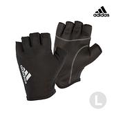 Adidas Training- 初階透氣半指手套(流星灰)-L
