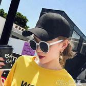 耐克帽子女生潮韓版棒球帽男士休閒百搭遮陽太陽帽運動旅游鴨舌帽 七色堇