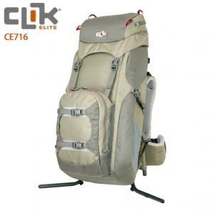美國【CLIK ELITE】CE716 Volt ClikStand 支架式專業攝影雙肩後背包 可放2機/5鏡(2隻大砲)/2閃光燈