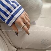指環戒指男女情侶時尚簡約食指【小酒窝服饰】