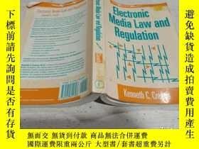 二手書博民逛書店Electronic罕見MediaLaw and Regulation(電子媒體法律法規)Y212829