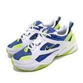 Nike 老爹鞋 M2K Tekno 白 藍 綠 雪碧 男鞋 復古慢跑鞋 運動鞋 【ACS】 AV4789-105
