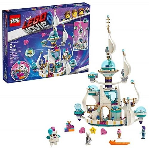 LEGO 樂高 MOVIE 2 Queen Watevra s 'So-Not-Evil' Space Palace 70838 Building Kit (995 Piece)