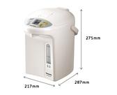 《Panasonic 國際牌》3公升真空斷熱 七段省電定時 熱水瓶 NC-BG3001