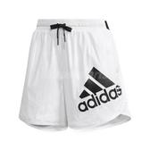 adidas 短褲 Training Shorts 女款 三條線 基本款 運動褲 運動 黑白 白 【PUMP306】 DY8640