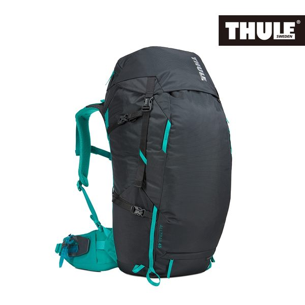 THULE-AllTrail系列45L女用登山包-曜石黑