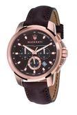 【Maserati 瑪莎拉蒂】/三眼皮帶錶(男錶 女錶 手錶 Watch)/R8871621004/台灣總代理原廠公司貨兩年保固