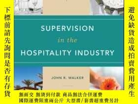 二手書博民逛書店Supervision罕見in the Hospitality Industry, Student Study G