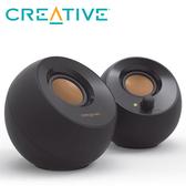 【CREATIVE 創巨】Pebble USB 2.0 桌上型喇叭 黑色