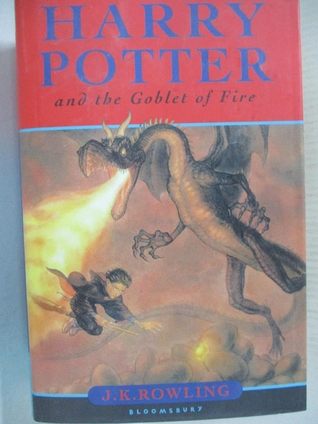 【書寶二手書T1/一般小說_CM9】Harry Potter and the Goblet of Fire_J.K. Rowling