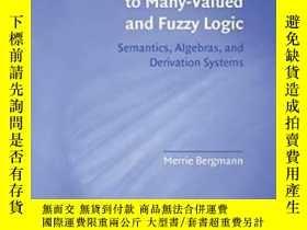 二手書博民逛書店An罕見Introduction To Many-valued And Fuzzy LogicY256260