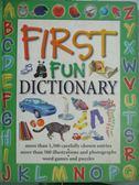 【書寶二手書T3/少年童書_XCX】First Fun Dictionary_Leaney, Cindy