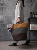 塑料髒衣籃髒衣服收納筐裝衣物婁籃子放玩具的贓藍框家用洗衣簍桶 NMS快意購物網