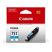 CANON CLI-751XLC 藍色高容量墨水匣