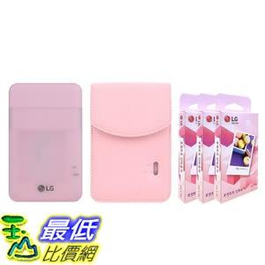 可攜式照片印表機 LG PD261 Portable Mobile Pocket Photo Printer [Pink] + Zink Paper 90 Sheets