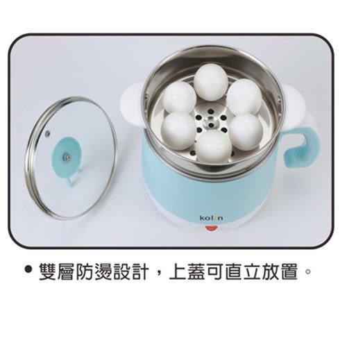 【艾來家電】【分期0利率+免運】歌林 2L雙層防燙不鏽鋼多功能美食鍋 KPK-LN200S