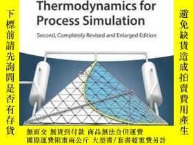 二手書博民逛書店Chemical罕見Thermodynamics for Process Simulation, 2nd, Com