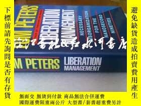 二手書博民逛書店原版精裝護封罕見liberation management:Ne