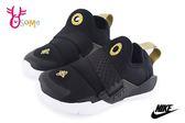 NIKE Huarache Extreme 武士鞋 小童 免綁帶 休閒運動鞋 O7201#黑金◆OSOME奧森童鞋