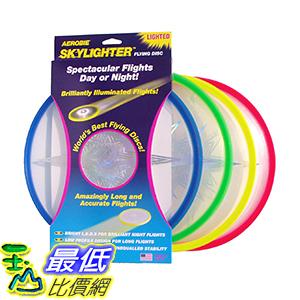 [美國直購] Aerobie Skylighter Disc B01F40FEH4 圓形 飛盤 一入裝 顏色隨機