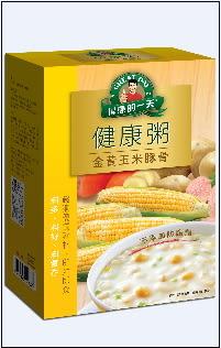●得意的一天健康粥-金黃玉米豚骨4入/盒*2盒【合迷雅好物超級商城】
