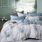 《DUYAN竹漾》天絲雙人加大床包涼被四件組- 荷塘月色