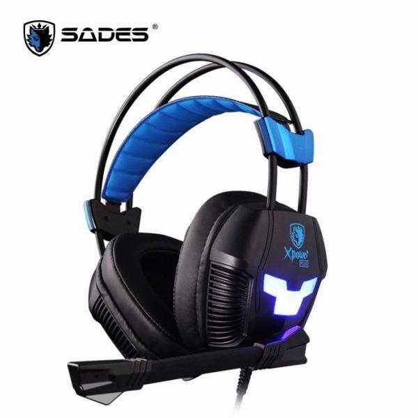 【台中平價鋪】 全新 SADES Xpower Plus 極限之力S 耳機麥克風 電競耳麥 立光公司貨 KR-SA-706S