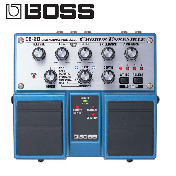 小叮噹的店-BOSS CE-20 Chorus Ensemble錄音室級和聲雙踏板效果器