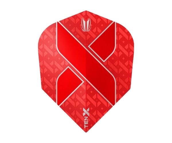 【TARGET】VISION ULTRA TEN- x  SHAPE Red 333510 鏢翼 DARTS