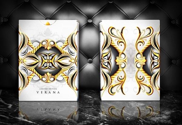 【USPCC 撲克】Seasons LTD Verana白色 Playing Cards /Inverno黑色
