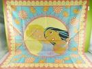 【震撼精品百貨】Disney 迪士尼 Pocahontas_風中奇緣~絲巾-鳳中奇緣公主與王子-紅色