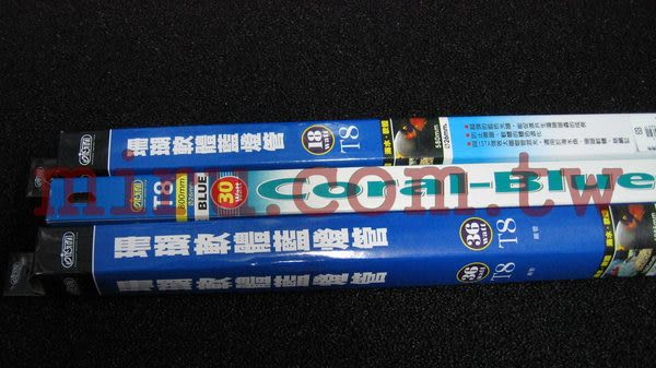 【西高地水族坊】ISTA伊士達 珊瑚藍燈管(30W)