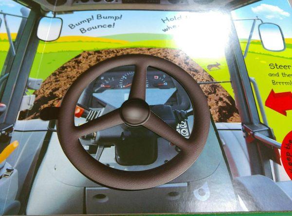 《幼兒聲音立體觸摸書》MY TERRIFIC TRACTOR BOOK /聲音書