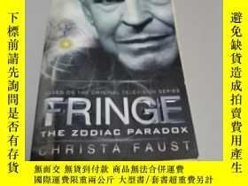 二手書博民逛書店Fringe罕見- The Zodiac Paradox (Novel #1)Y367493 Faust, C