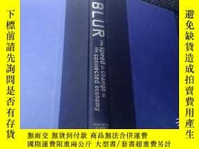 二手書博民逛書店BLUR罕見the speed of change in the