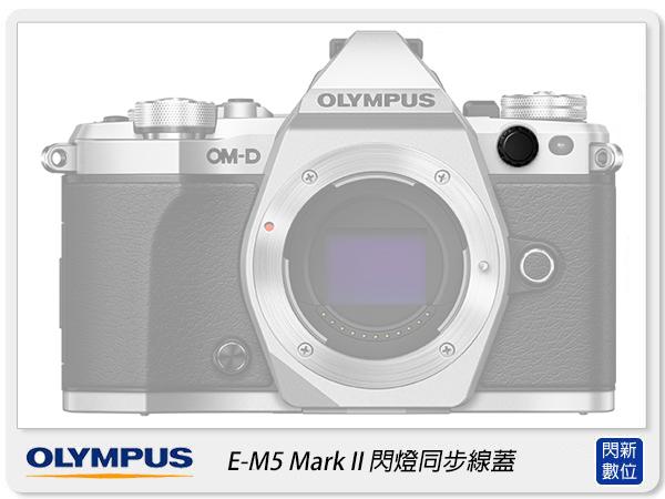 Olympus E-M5 Mark II 閃燈同步線孔蓋 同步接點蓋 同步線插孔蓋 前蓋 EM5 EM5M2