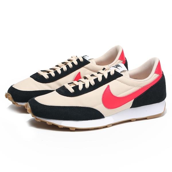 NIKE 慢跑鞋 W DAYBREAK 黑白 桃色勾勾 復古 女 (布魯克林) CK2351-010