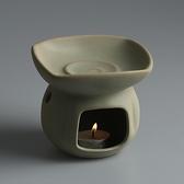 創意手工粗陶陶瓷精油燈香薰燈蠟燭加熱熏香爐