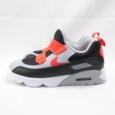 NIKE AIR MAX TINY 90 (TD) 小童鞋 襪套式 881924024 黑灰紅【iSport愛運動】