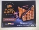 [COSCO代購] WC130843 Magic Waffles 冷凍比利時巧克力鬆餅 80公克 X 16入 兩入裝