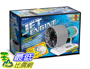 [8美國直購] Haynes Build Your Own Jet Engine Fully Working Model Kit
