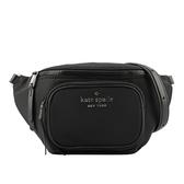【KATE SPADE】Dorien尼龍腰包(黑色) WKRU6591 001